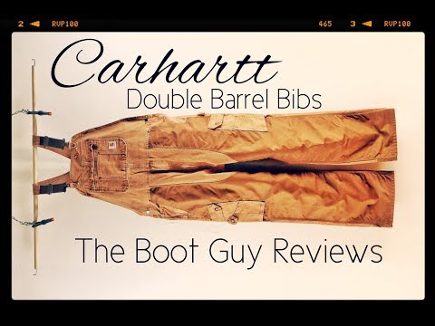 Carhartt DOUBLE BARREL OVERALLS [ The Boot Guy Reviews ]