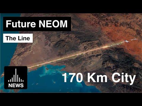 Saudijska Arabija planira gradnju grada za milion stanovnika i sa jednom saobraćajnicom (VIDEO)