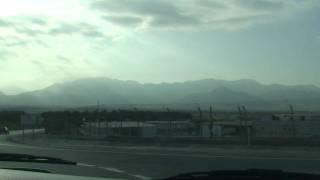 preview picture of video 'Israel-Jordan Border Terminal in Eilat HD'