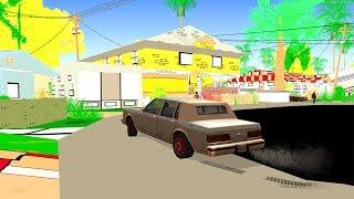 Мультяшная GTA San Andreas!