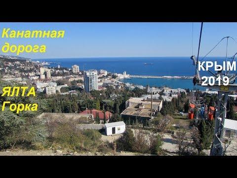 Крым 2019, Ялта, Канатная дорога.  Море, горы, прокатились