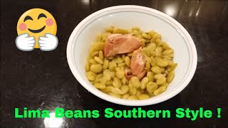 Lima Beans Creamy Southern Style: Meso Making It