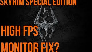 Skyrim Special Edition: Possible Physics Fix for High FPS Monitors
