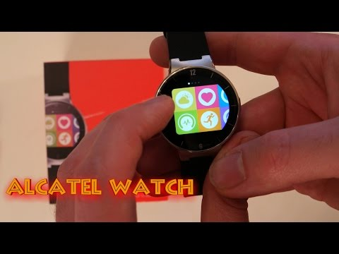 Günstige Smartwatch Alcatel OneTouch SM02 für iPhone und Android im Test Deutsch / German