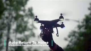 Holy Stone HS120D FPV Drone With Camera 1080p HD Live Video & GPS Return Home