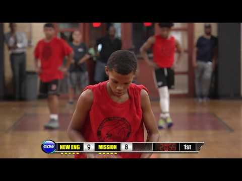 Game of the Week: BNBL Boys 15 & Under - New England vs Mission