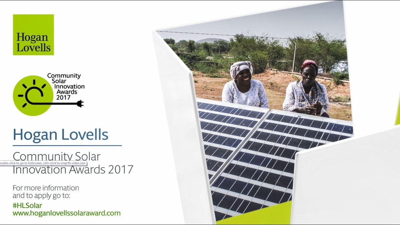 Community Solar Innovation Awards 2017