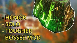 Elver Scion Bossfight - Honor - Solo - Tougher Bosses Mod