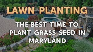 The Best Time to Plant Grass Seed in Maryland