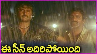 Mammootty Warning To Rajinikanth - Dalapathi Movie Scene | Shobana