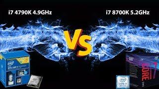 i7 4790k vs i7 8700k 4k - Free video search site - Findclip Net