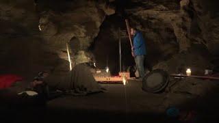 preview picture of video '- Aggertalhöhle - Engelskirchen - Konzertausschnitt mit Traumkraft - Marc Iwaszkiewicz'