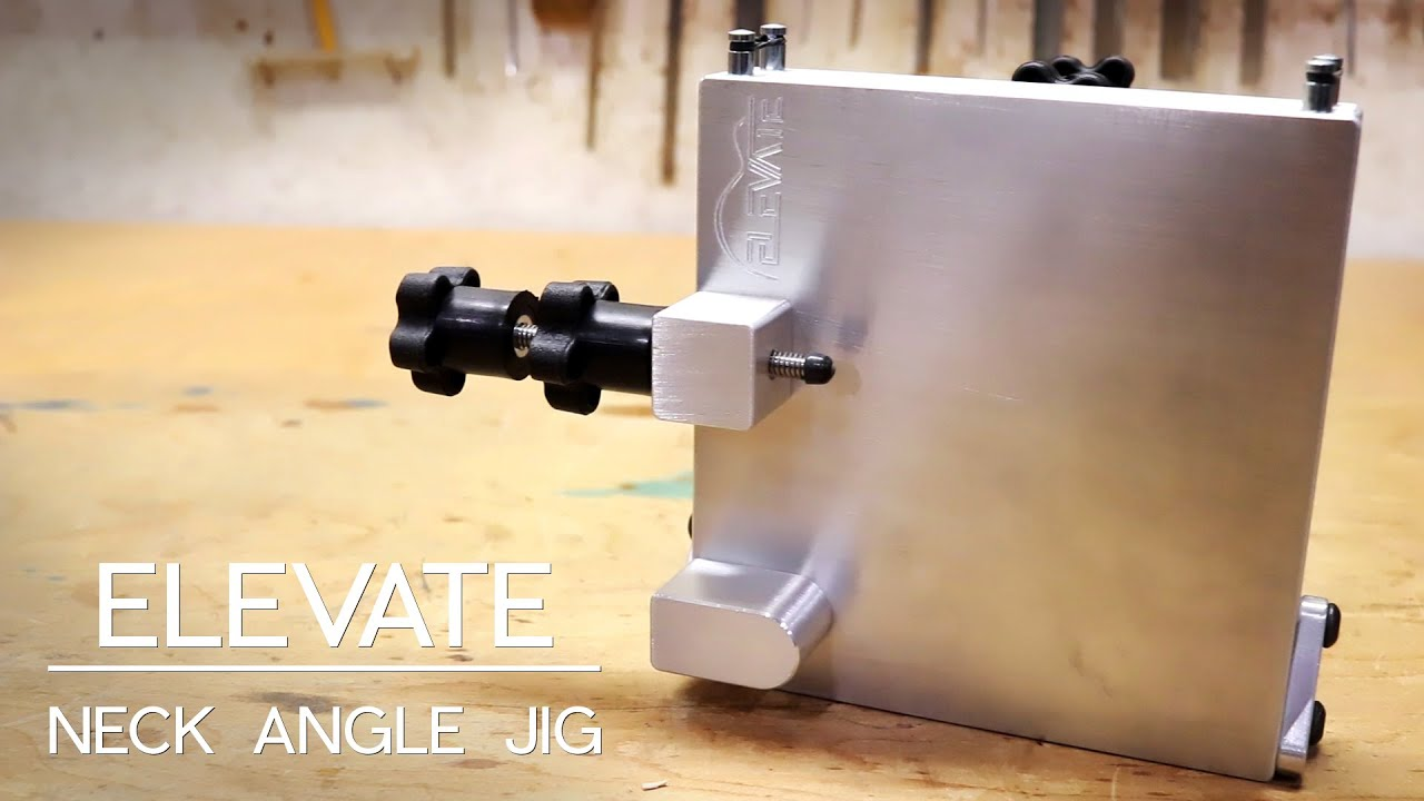 Using Your Neck Angle Jig