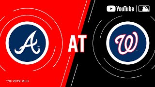 Braves at Nationals   MLB Game of the Week Live on YouTube