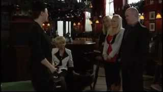 Phil Mitchell Throws Janine Butcher Out Of <b>The Vic </b>2010