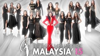 Miss Universe Malaysia 2015 Official Trailer