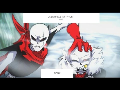 My Favorite Songs - Underfell Sans And Papyrus Song - Rap By