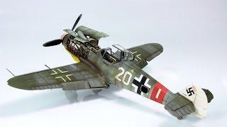Painting messerschmitt Bf-109G-6 1/48 part 3