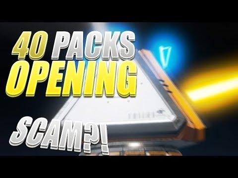 40 Kisten SCAM?! | Apex Legends Pack Opening