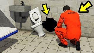 GTA 5 - ULTIMATE PRISON BREAK!! (Can We Escape?)