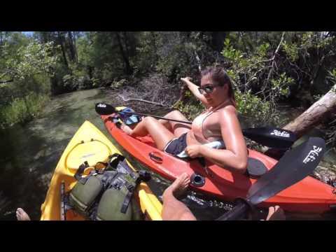 Video VLOG #206- Kayaking- The Coolest Kayak Paddling Trip Ever!