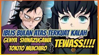 Genya Shinazugawa  - (Demon Slayer: Kimetsu no Yaiba) - kekalahan kokushibo !!! tokito dan genya tewas - kimetsu no yaiba 179