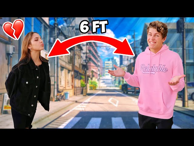 GOING ON A DATE 6 FEET APART! ft. Lexi Rivera