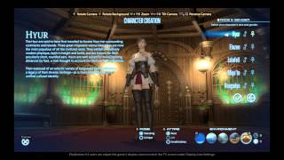 Final Fantasy XIV: A Realm Reborn (PS4) - All Male Hairstyles in