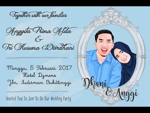 Video Wedding Invitation Anggita & Dany (05-02-2017)