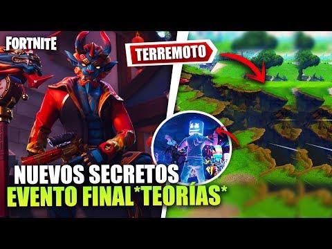 LOS TERREMOTOS COMENZARON *FILTRADO* EVENTO FINAL *TEMPORADA 8 TEORÍAS   FORTNITE BATTLE ROYALE