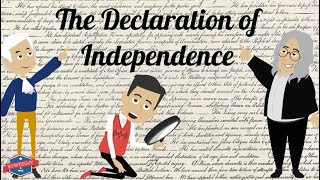 The Declaration Of Independence - Educational Social Studies Video For Elementary Students & Kids