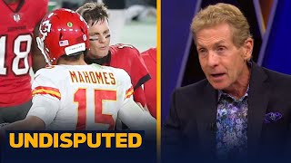 Skip & Shannon react to Tom Brady & Mahomes' twitter jabs over GOAT status | NFL | UNDISPUTED