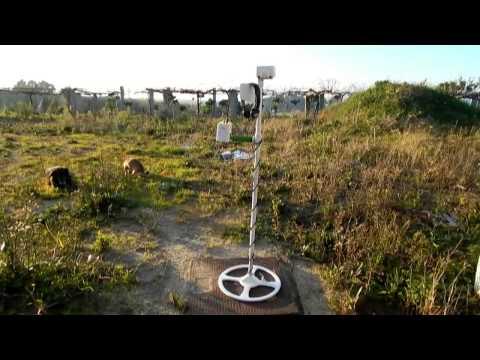 detector de metales por inducción de impulsos PHIED. v. 1.4