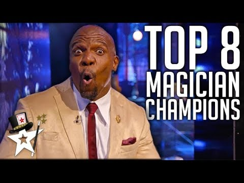 Best Magicians In The World on America's Got Talent: The Champions | Magicians Got Talent (видео)