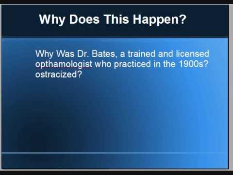 Dr. Bates a látásról