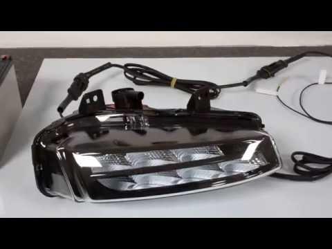 range rover evoque led drl front fog lamps lights upgrade. Black Bedroom Furniture Sets. Home Design Ideas