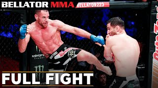 Full Fight | Gegard Mousasi vs. Rafael Lovato Jr. - Bellator 223
