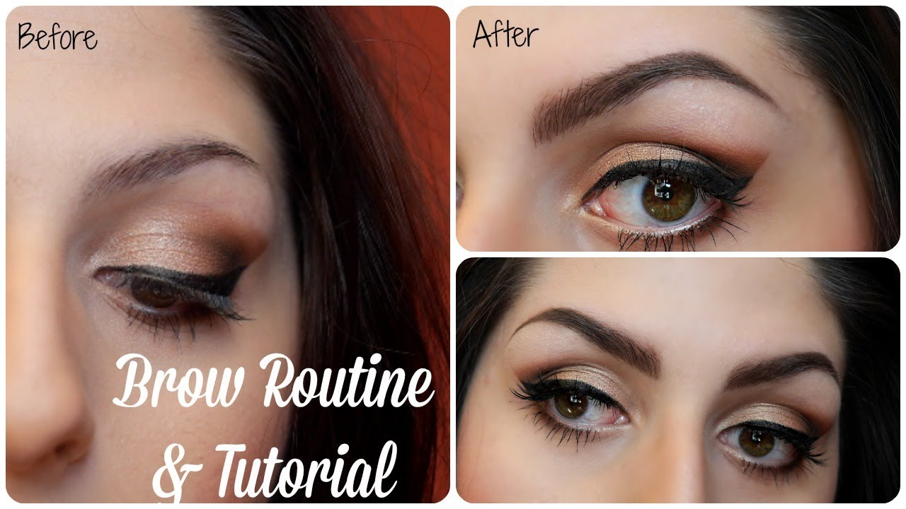 Current Brow Routine & Tutorial-Featuring Anastasia Beverly Hills