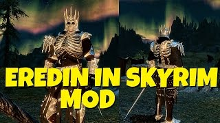 How to Play as Eredin in Skyrim // The Witcher 3 Meets Skyrim