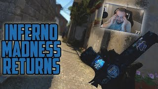 INFERNO MADNESS RETURNS! THROWING A WON MATCH? OT, NASTY KILLS AND FUNNY MOMENTS IN FPL! | CSGO