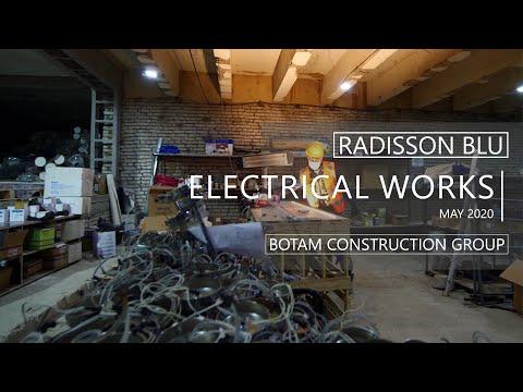 Radisson Blu Iveria - Electrical Works