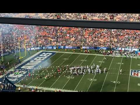 Eagles fans boo Rams' entrance … in LA