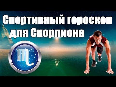 Спортивный гороскоп для Скорпиона. Каким видом спорта лучше заняться .Гороскоп здоровья и красоты.