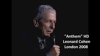 Leonard Cohen - Anthem High Quality Mp3 1080 (w/lyrics) London 2008
