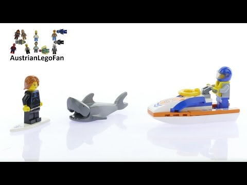 Vidéo LEGO City 60011 : L'intervention du garde-côtes