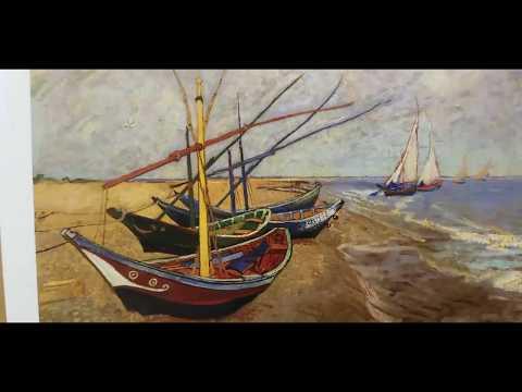Fishing Boats by Vincent van Gogh - Artist Jose Trujillo - Art Talk