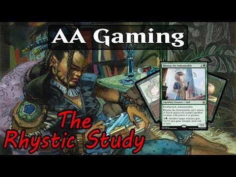The Rhystic Study: Episode #4 - Rhonas the Indomitable Deck Tech - Mono Green Control???