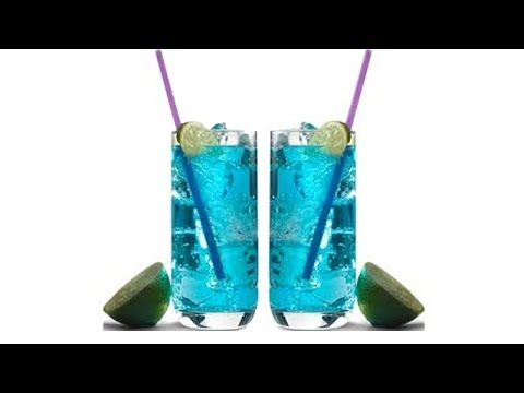 Easy to make  Blue Island Drink Recipe – Indian Foods