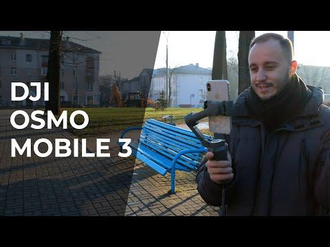 Ручной стабилизатор DJI Osmo Mobile 3