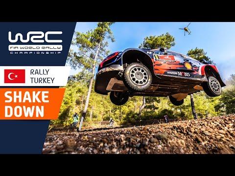 WRC ラリー・ターキー(トルコ)。シェイクダウンが行われたWRCラリー・ターキーのダイジェスト動画